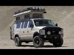 Off-Road Camper Wars! Ford 4x4 Sportsmobile vs Pace Arrow RV - Dirt Ever...