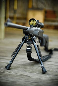Remington 700, my dad shot one of these, it literally sounds like a gun that fires thunder.
