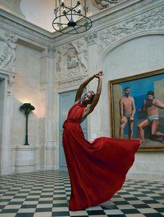 Lupita Nyong'o für/for Vogue Magazine October 2015.  Credits:  Photographers:  Mert Alas and Marcus Piggott Vogue Magazine  http://www.vogue.com