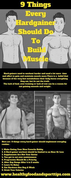 9 Things Every Hardgainer Should Do To Build Muscle