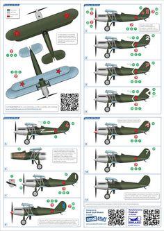 Small Stuff 1/72 scale Polikarpov I-3 Review by Mark Davies