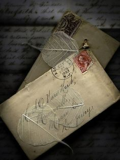 vintage letters...