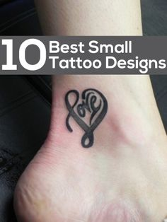 Best Small Tattoo Designs – Our Top 10