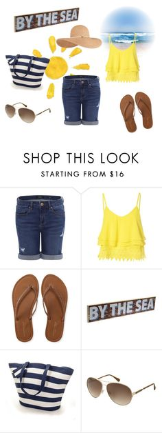 """""""beachy"""" by lotsolove-1 on Polyvore featuring Glamorous, Aéropostale, Kenneth Cole, Eugenia Kim, women's clothing, women, female, woman, misses and juniors"""