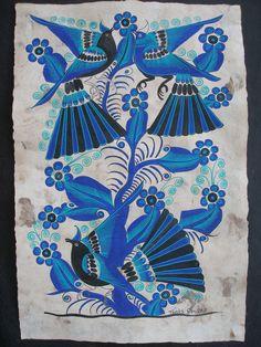 mexican otami art | ... from Thomas Ramirez- Otomi Folk Art - Latin - Mexican Folk Art Craft