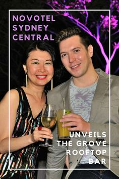 The Grove Rooftop Bar VIP & Media Launch Party at Novotel Sydney Central. To read more, simply click here!