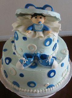 Baby Shower Boy cake