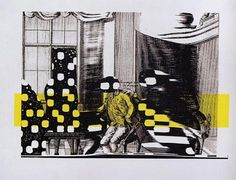 Der dritte stand, 1995, print © Sigmar Polke