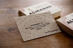 Beautiful new branding for the design studio Almanac.