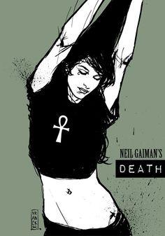 Neil Gaiman's Death | Gilles Vranckx