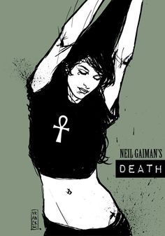 Neil Gaiman´s Death by Gilles Vranckx