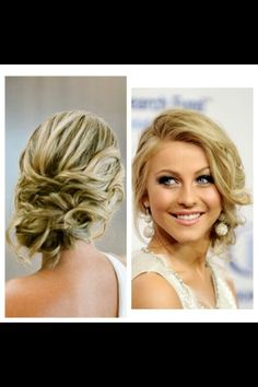Des' s hair for prom :)