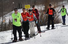 National Disabled Veterans Winter Sports Clinic is held for Veterans to help them mentally and physically. They teach a lot of different winter sports.