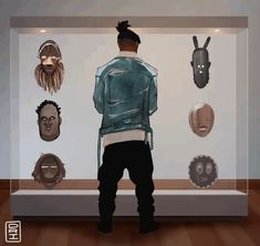 Black Panther: Killmonger Looking Black Panther Art, Black Panther Marvel, Marvel Art, Marvel Comics, Marvel Avengers, Black Anime Characters, Marvel Characters, Wakanda Marvel, Character Art
