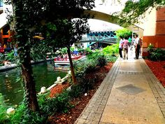 The Riverwalk, San Antonio TX