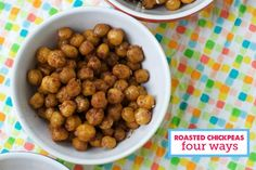 Modern Parents Messy Kids: Healthy Snack: Roasted Chickpeas