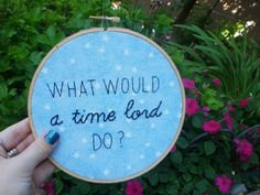 {what would a time lord do?}