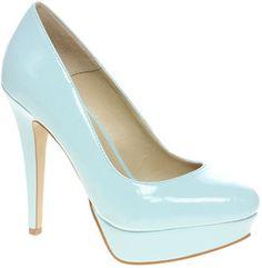 ShopStyle: ASOS PERFECT Patent Platform Court Shoe