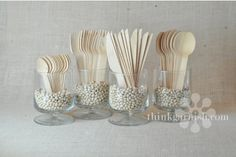 wooden disposable silverware
