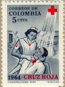1961 Colombian stamp