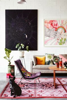 See Kirra Jamisons' Eclectic Home on Style Logistics #interiordesign