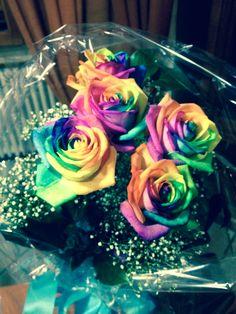 L'arcobaleno è nei fiori