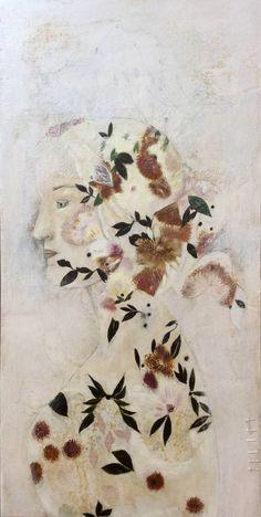 "Saatchi Art Artist Karenina Fabrizzi; Painting, ""Dante II"" #art"