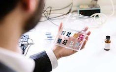 Una pantalla de smartphone que no consume energía
