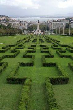 Parque Eduardo VII, Lisboa #Portugal