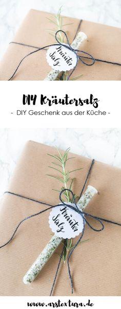 DIY Kräutersalz zum verschenken | DIY Geschenk aus der Küche | ars textura DIY Blog