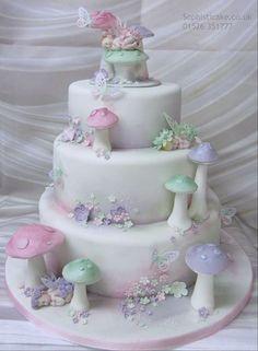 Today's cake is a fabulous baby flower fairies christening cake . Fairy Garden Cake, Garden Cakes, Fairy Cakes, Christening Cake Girls, Birthday Cake Girls, Birthday Cakes, Fairy Birthday, Dragon Cakes, Cupcakes