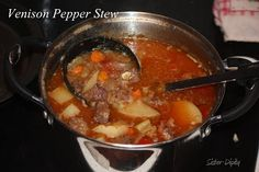 My friend, Katie, shared this recipe with me a few weeks ago knowing that my husband would enjoy trying it. Wild Game Recipes, Great Recipes, Snack Recipes, Cooking Recipes, Favorite Recipes, Venison Recipes, Venison Meals, Redneck Recipes, Good Food