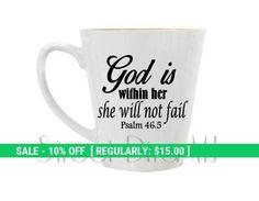 Scripture Mug Coffee Cup Personalized Mug Custom #housewares @EtsyMktgTool http://etsy.me/2nJniLo #drinkware #mugs #custommug