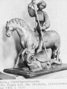 1390-1400 St. Georg mit dem Drachen, Schnutgen Museum