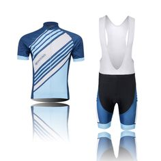 (Type:Set(Bib) size:L) Cool Jersey Set Cycling Tops Sportswear Breathable pad perspiration Shirts Sleeve Comfortable soft Dry Shorts Quick Tights Men Short >>> Want to know more, click on the image.