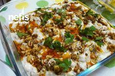 Yoğurtlu Patlıcan Salata Tarifi nasıl yapılır? 3.609 kişinin defterindeki bu tarifin resimli anlatımı ve deneyenlerin fotoğrafları burada. Yazar: Ayten Yiğit
