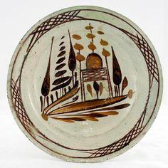 DISH Turkish Art, Turkish Tiles, Portuguese Tiles, Moroccan Tiles, Slab Pottery, Ceramic Pottery, Ceramic Art, Sculpture Clay, Ceramic Sculptures