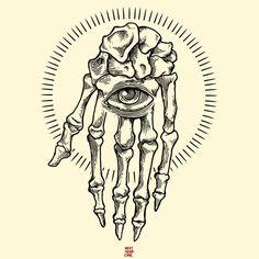 skeleton hand tattoo - Google zoeken