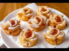 Egy igazi fánk különlegesség - Rózsafánk recept ~ A Retro Klub hivatalos oldala Rose Cookies, Sweet Cookies, Donut Recipes, Cake Recipes, Cooking Recipes, Ital Food, Hungarian Recipes, Dessert Bread, Recipe Images