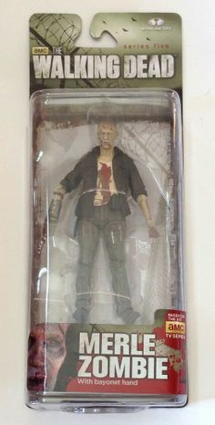 McFarlane Toys The Walking Dead TV Series 5 Merle Dixon Zombie Action Figure