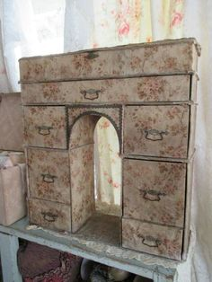 Stunning Antique French Boudoir Box ~