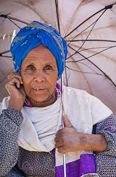 You can't help but smile when you see this photo. Elderly woman near Debre Birhan, Ethiopia. Photo credit: Laura Cook.