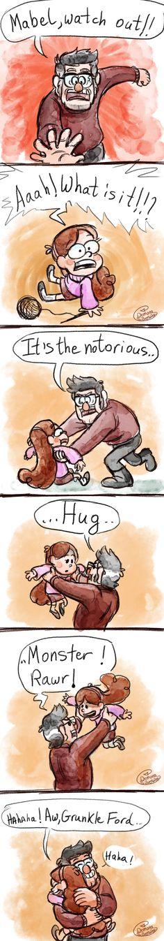 Hug Monster by Demona-Silverwing on DeviantArt