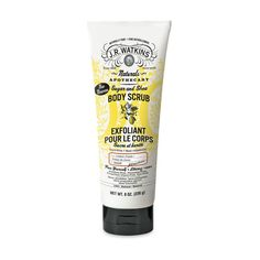 J.R. Watkins This old-school (established in 1868) brand is known for its all-natural apothecary remedies and cooking extracts (bourbon vanilla, anyone?). So launching a bath-and-body line, was only, er, natural for the brand. The latest must-have? Its Lemon Cream Sugar and Shea Body Scrub, plus a full line of anti-aging body products.