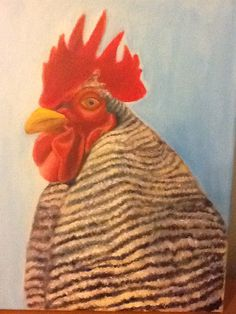 Rooster, Paintings, Animals, Animales, Paint, Animaux, Painting Art, Animal, Painting