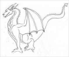 Dragons how to draw a dragon for kids drawing pinterest how to draw a dragon ccuart Choice Image