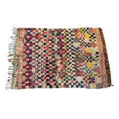 Found it at AllModern - Boucherouite Azilal Hand-Woven Area Rug