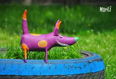 Cosmo dog by MarLitoys on Etsy