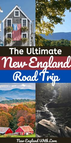 Maine Road Trip, Road Trip Usa, Best Road Trips, Best American Road Trips, New England States, New England Travel, Road Trip Adventure, Road Trip Destinations, Road Trip With Kids