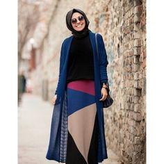 İNVEE TRİKO ETEK | ETEK | 2015 YENİ SEZON | KatreModa Tesettür Giyim